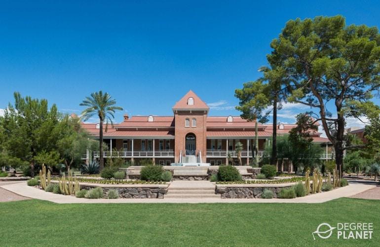 impressive university campus