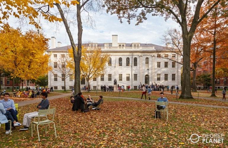 beautiful university campus