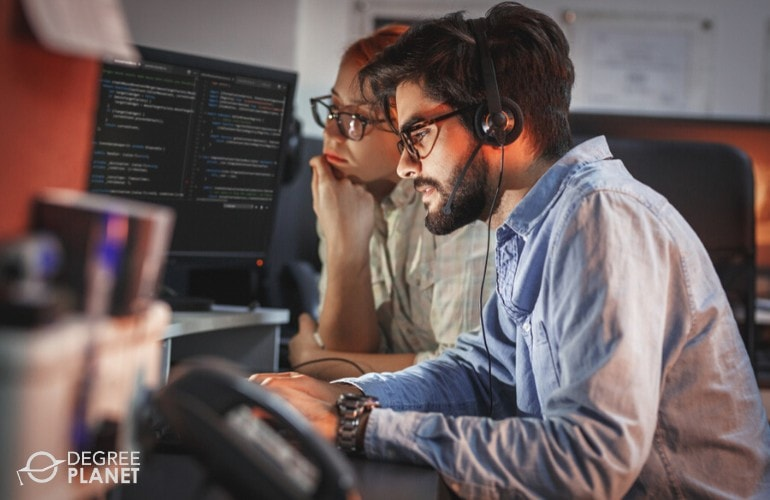 software developers working together on a project