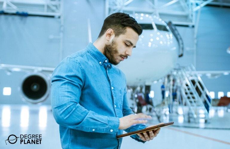 Aerospace Engineer working