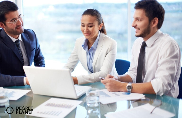 Health Informatics Professionals in a meeting