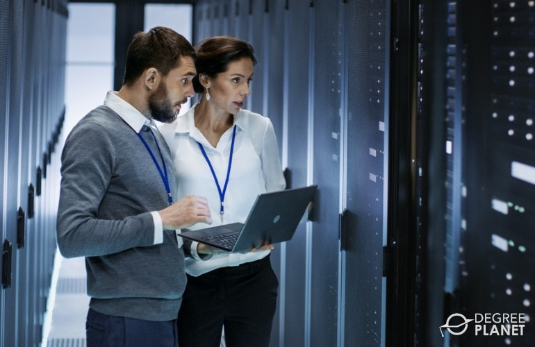 Network and Computer Systems Administrators in data center