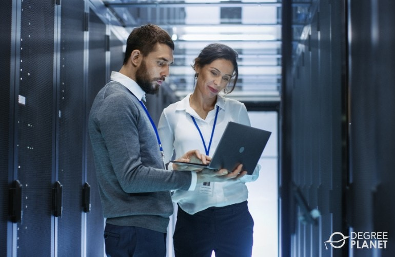 Information Security Analysts in data center