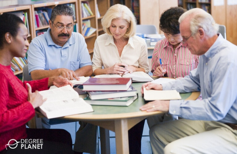Best Degrees for Older Adults