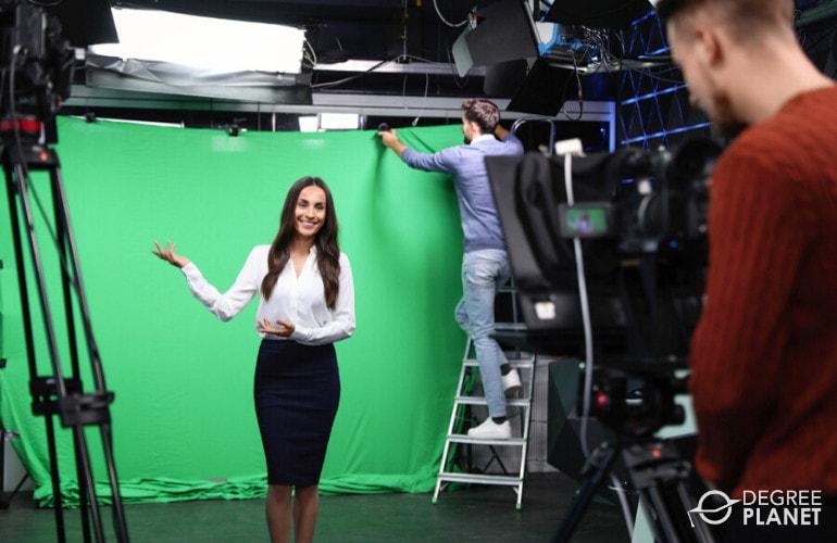 Broadcast News Analyst working
