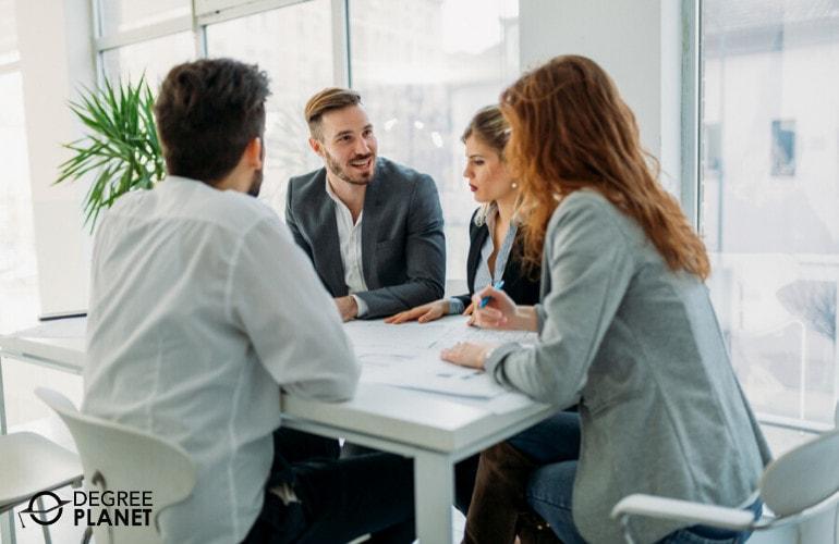Business executives meeting