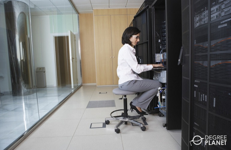 Network and Computer Systems Administrator in data center