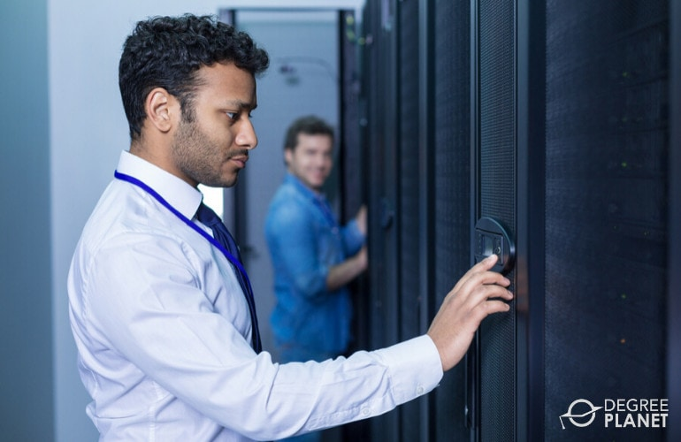 Database Administrator in data center