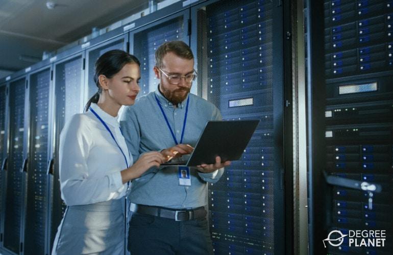 Database Administrators in data center