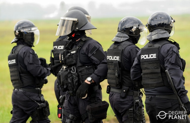 police in operation